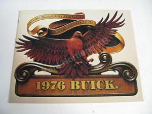 1976 Buick luxury stor broschyr