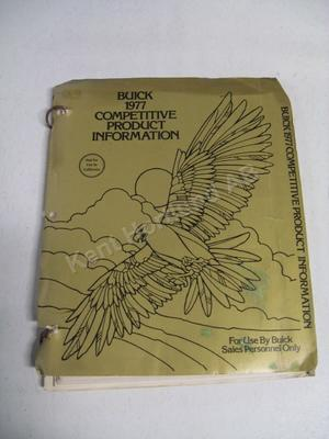 1977 Buick competetive product information