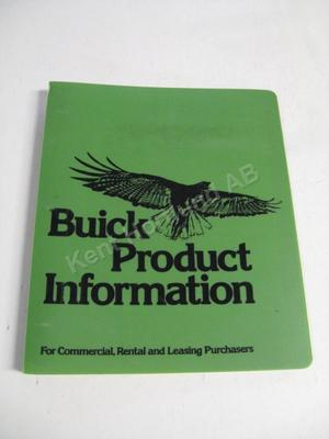 1977 Buick Product information