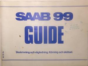 1979 SAAB 99 Guide 2:dra utg.