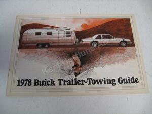 1978 Buick Trailer-towing guide
