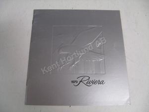 1979 Buick Riviera Lyxbroschyr