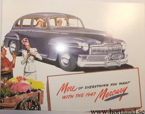 1947 Mercury broschyr