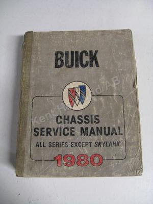 1980 all except Skylark Chassis Service Manual