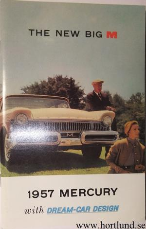 1957 Mercury Owners Manual