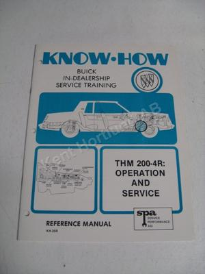 1980 Buick in dealership service training