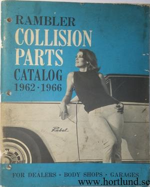 1962 - 1966 Rambler Collision Parts Catalog