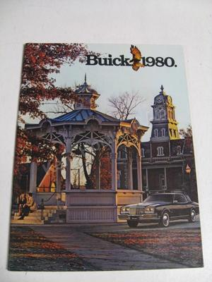 1980 Buick Lyxbroschyr