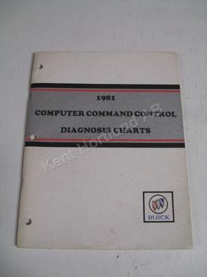 1981 Buick computer command control diagnosis charts