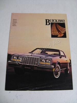 1982 Buick Rivierara electra, lesabre skylark Försäljningsbroschyr