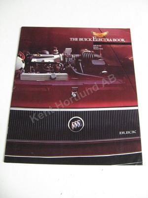 1984 Buick Electra Lyxbroschyr