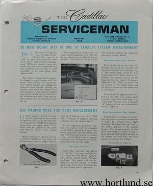 1963 Cadillac Serviceman February