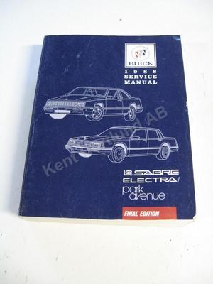 Buick Lesabre, Electra, Park avenue Service Manual
