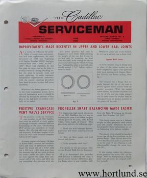 1963 Cadillac Serviceman June