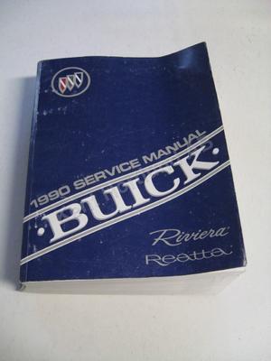 1990 Buick Riviera, Reatta Service manual