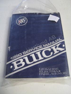 1990 Buick Lesabre, Electra, Park avenue Service manual