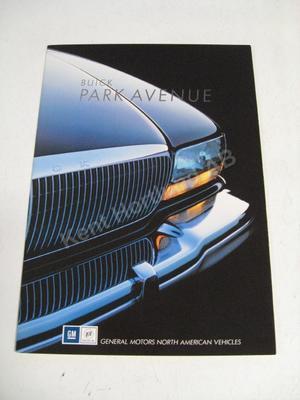 1991 Buick Park Avenue Försäljningsbroschyr