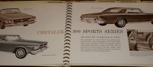 1963 Chrysler Presentation Album Data Book