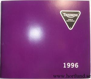 1996 Triumph broschyr