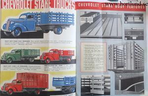 1939 Chevrolet Trucks broschyr