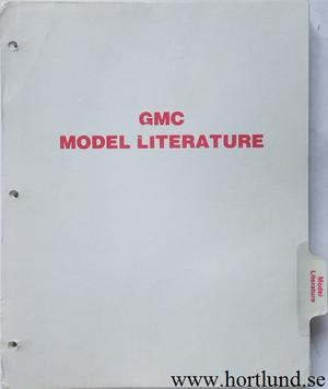 1977 GMC Model Literature Sprint, Pickup, Jimmy, Suburban, Van