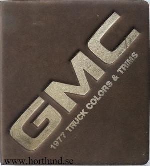 1977 GMC Dealer Album Sprint, Pickup, Jimmy, Suburban, Van