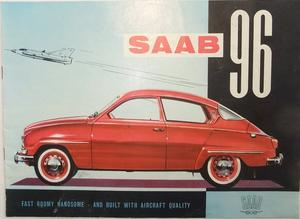 1961 SAAB 96 broschyr 8-60