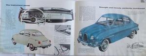 1961 SAAB 96 broschyr 4-61