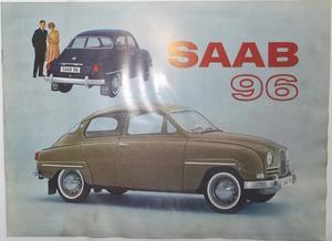 1964 SAAB 96 broschyr
