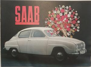 1965 SAAB 96 broschyr