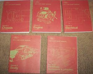 1974 Ford, Cougar, Torino, Ranchero, Comet, Montego, Pinto, Mustang, Thunderbird, Meteor, Maverick, Mercury, Lincoln Continental och Mark IV Shop Manual