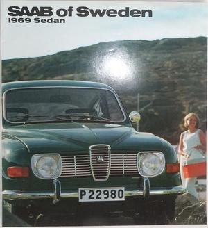 1969 SAAB 96 V4 broschyr
