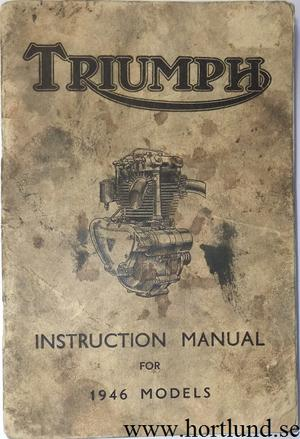1946 Triumph Instruction Manual