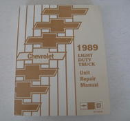 1989 Chevrolet Light Duty Truck Unit Repair Manual