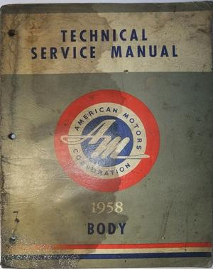 1958 Rambler Technical Service Manual Body