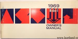 1969 AMC Rebel Owner's Manual