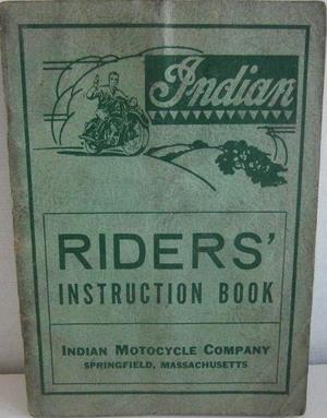 1948 Indian Riders Instruction Book alla modeller