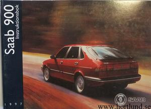 1997 SAAB 900 Instruktionsbok