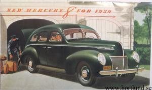 1939 Mercury broschyr
