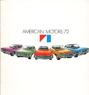 1972 AMC broschyr American Motors '72