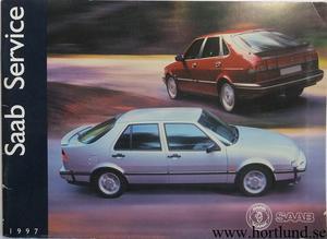 1997 SAAB 900 / 9000 Servicehäfte