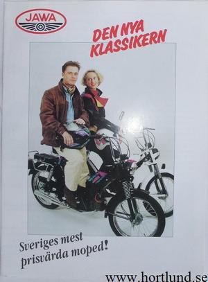 1992/1993 Jawa Moped broschyr
