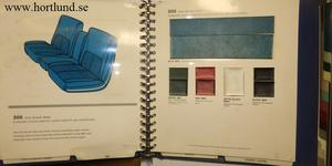 1968 Chrysler Color and Trim Selector Dealer Album