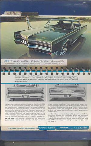 1968 Chrysler Data Book Dealer Album