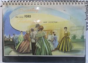 1952 - 1954 Ford Seat Coverings Dealer Album