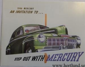 1946 Mercury broschyr