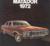 1972 AMC broschyr Matador 1972