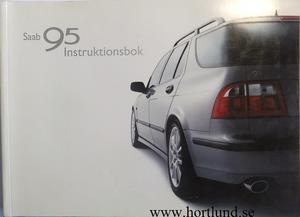 2002 SAAB 9-5 Instruktionsbok