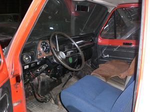 1975 Ford Transit Pickup med Dubbelhytt
