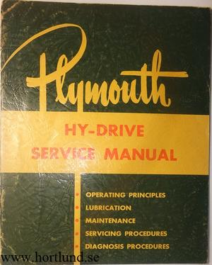 1953 Plymouth Hy-Drive Service Manual